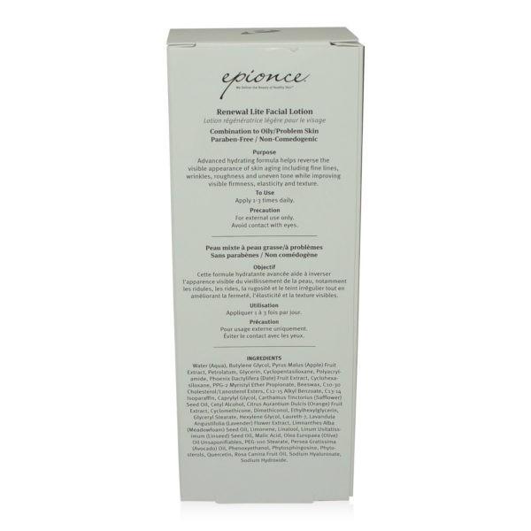 Epionce Renewal Lite Facial Lotion 1.7 oz.