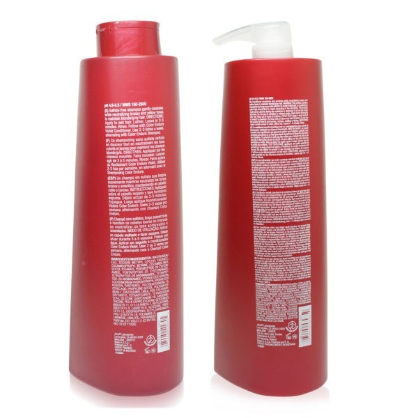 Joico Color Endure Violet-Sulfate Free Shampoo and Conditioner 33.8 Oz Combo Pack