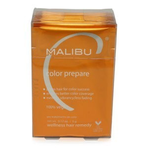 Malibu C Color Prepare 1 Step to Perfect Color 12 Packets