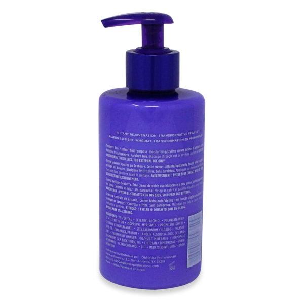 Obliphica Professional Seaberry Curl Control Cream Medium to Coarse, 10 oz.