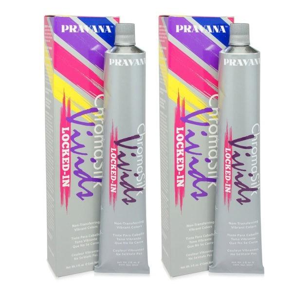 PRAVANA ChromaSilk Vivids (Locked in Blue) 3 0z - 2 Pack