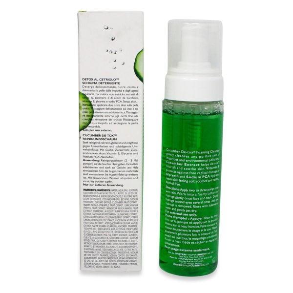Peter Thomas Roth Cucumber Detox Foaming Cleanser 6.7 oz.