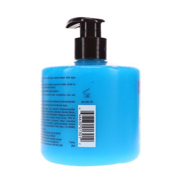 Style Sexy Hair Hard Up Gel - Shine 9 / Hold 10 16.9-Oz Pump Bottle
