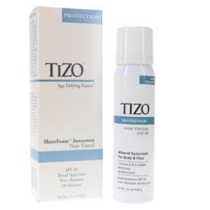 TIZO SheerFoam SunScreen Non-tinted SPF 30