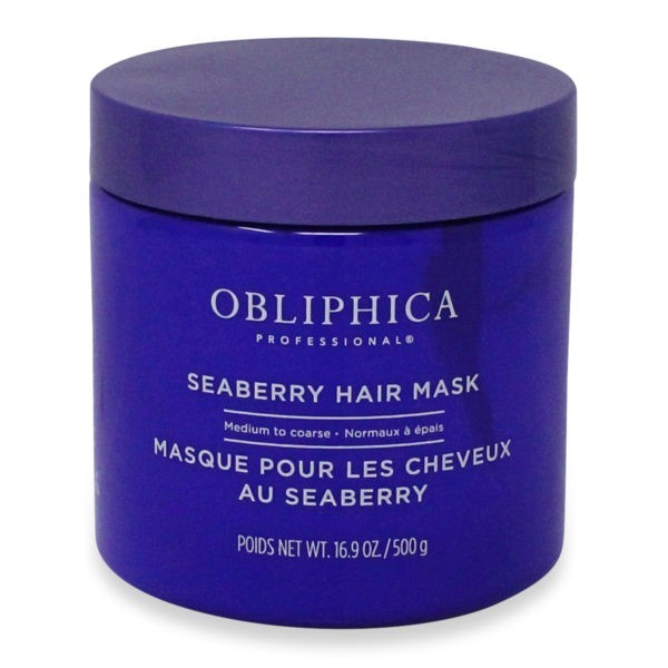 Obliphica Professional Seaberry Medium to Coarse Mask, 16.9 oz.