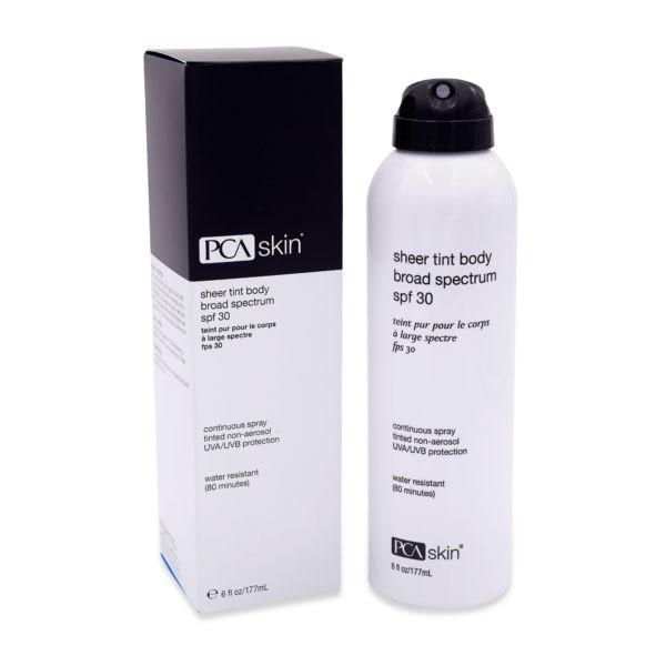 PCA SKIN Sheer Tint Body Broad Spectrum SPF 30 6 oz