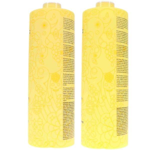 Amika Velveteen Dream Smoothing Shampoo 33.8 oz & Conditioner 33.8 oz Combo Pack