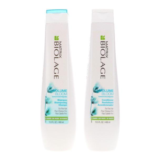 Matrix Biolage VolumeBloom Shampoo 13.5 oz & Biolage VolumeBloom Conditioner 13.5 oz Combo Pack