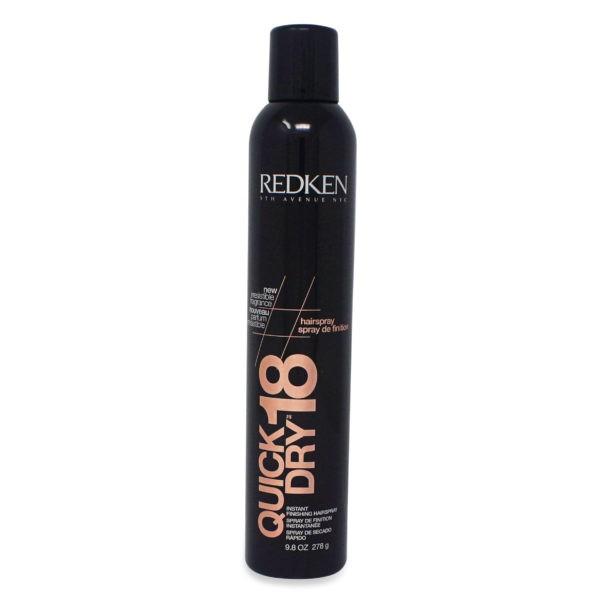 Redken 18 Quick Dry Instant Finishing Hairspray 9.8 Oz