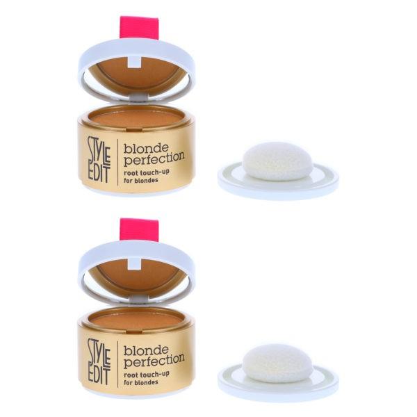 Style Edit Blonde Root Touch Up Powder Dark Blonde 0.13 oz 2 Pack