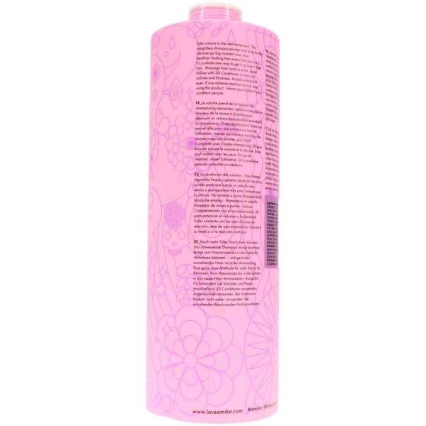 Amika 3D Volume Plus Thickening Shampoo 33.8 oz