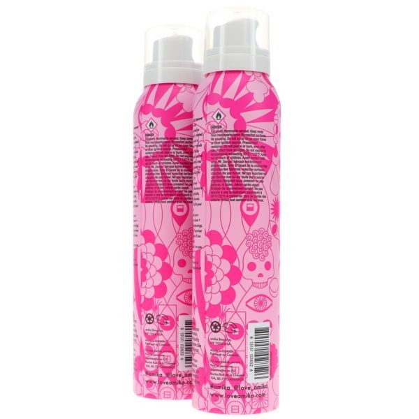 Amika Phantom Hydrating Dry Shampoo Foam, 5.3 oz. 2 Pack