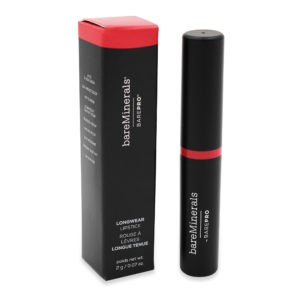 bareMinerals BAREPRO Longwear Lipstick Hibiscus 0.07 oz