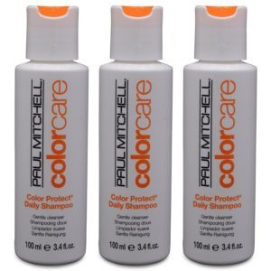 Paul Mitchell Color Protect Daily Shampoo 3.4 oz 3 Pack