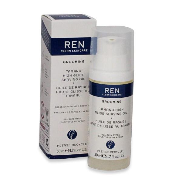 REN Skincare Tamanu High Glide Shaving Oil-1.7 oz.