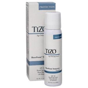 TIZO SheerFoam SunScreen Tinted SPF 30 - 3.5 oz