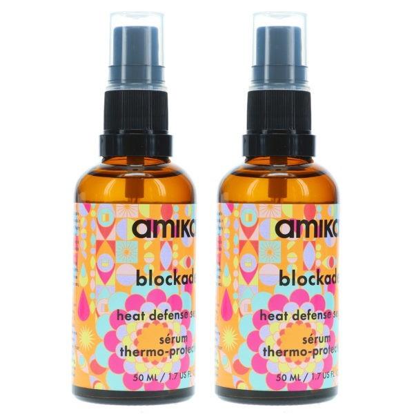 Amika Blockade Heat Defense Serum 1.7 oz 2 Pack