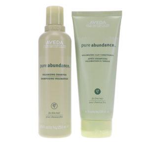 Aveda Pure Abundance Volumizing Shampoo 8.5 oz & Pure Abundance Volumizing Clay Conditioner 6.7 oz Combo Pack