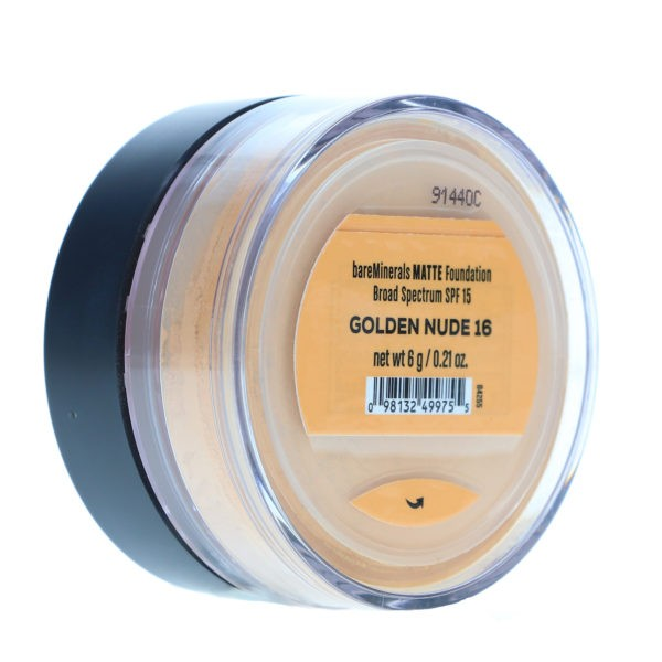 bareMinerals Loose Powder Matte Foundation SPF 15 Golden Nude 16 0.28 oz