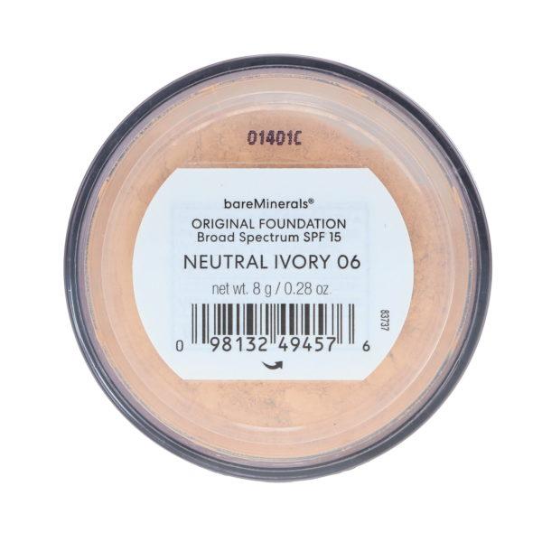bareMinerals Original Foundation Broad Spectrum SPF 15 Neutral Ivory 06 0.28 oz