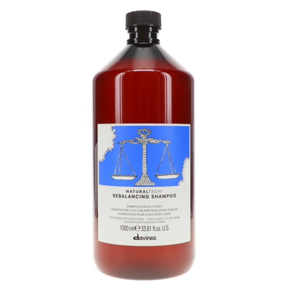 Davines NaturalTech Rebalancing Shampoo 33.8 oz