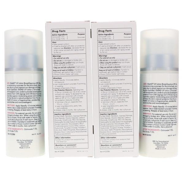 Elta MD UV Lotion SPF 30+ Broad Spectrum 7 oz 2 Pack