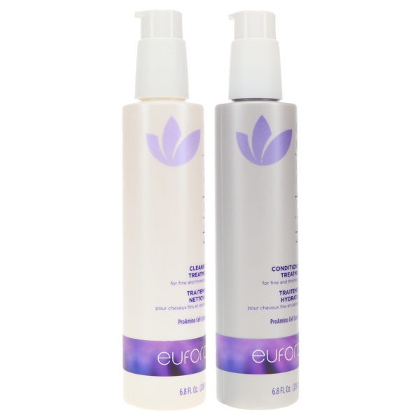 Eufora Thickening Cleansing Treatment 6.8 oz & Thickening Conditioning Treatment 6.8 oz Combo Pack