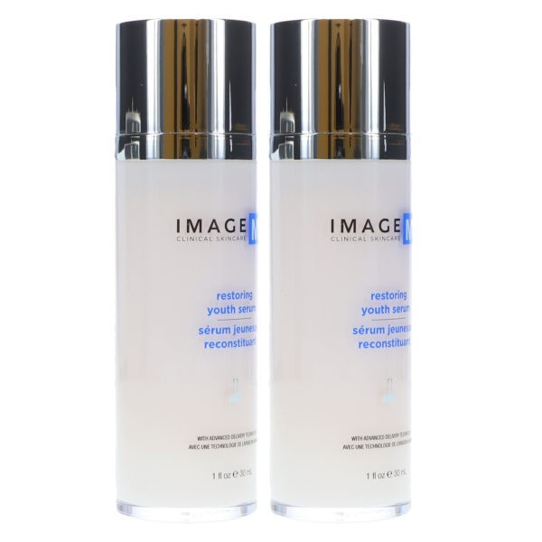 IMAGE Skincare MD Restoring Youth Serum with ADT Technology 1 oz 2 Pack