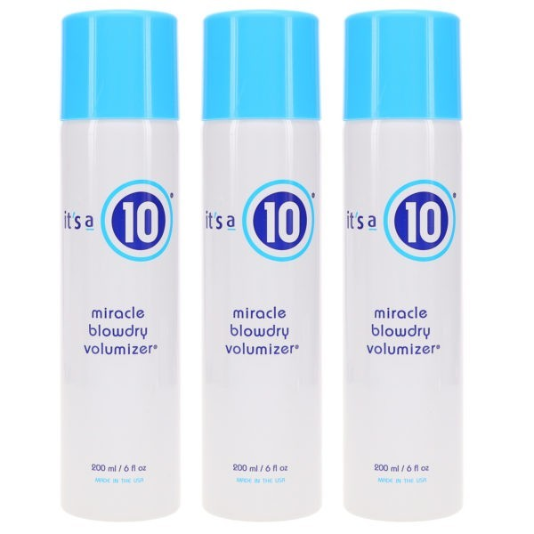 It's a 10 Miracle Blowdry Volumizer 6 oz 3 Pack