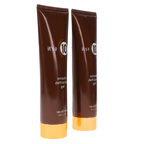 It's a 10 Miracle Defrizzing Gel 5 oz 2 Pack