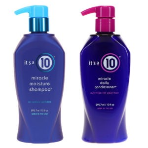 It's a 10 Miracle Moisture Sulfate-Free Shampoo 10 oz & Miracle Daily Conditioner 10 oz Combo Pack