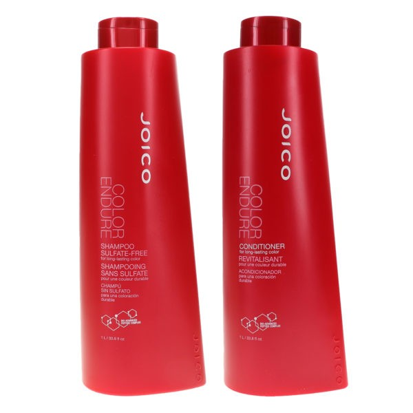 Joico Color Endure Shampoo 33.8 oz & Color Endure Conditioner 33.8 oz Combo Pack