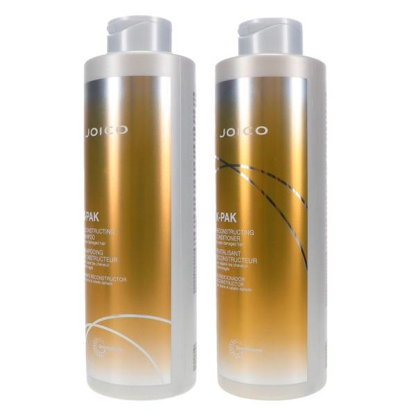 Joico K-Pak Reconstruct Shampoo 33.8 oz & Reconstruct Conditioner 33.8 oz Combo Pack