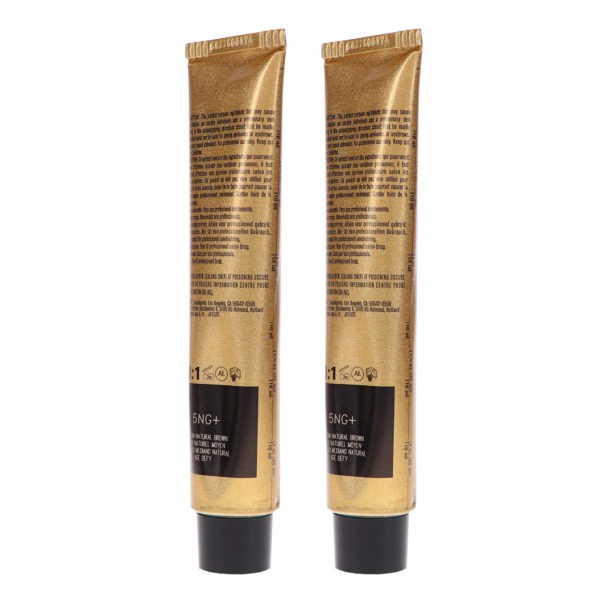 Joico Vero K-Pak Color Age Defy 5NG+ Medium Natural Brown 2.5 oz 2 Pack