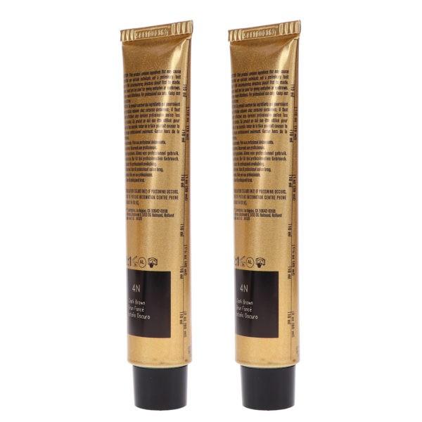 Joico Vero K-Pak Hair Color 4N Dark Brown 2.5 oz 2 Pack