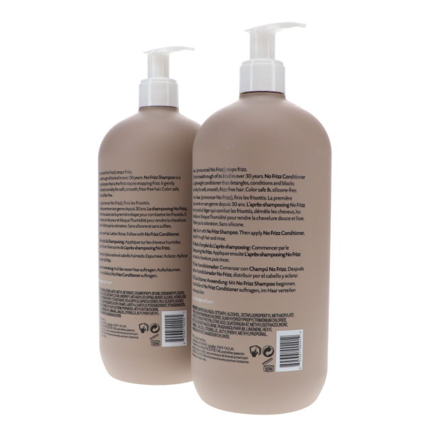 Living Proof No Frizz Shampoo 24 oz & No Frizz Conditioner 24 oz Combo Pack