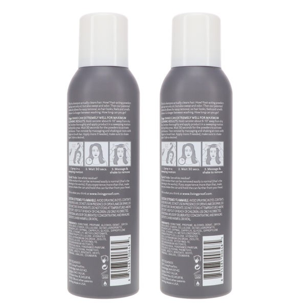 Living Proof Perfect Hair Day Dry Shampoo 4 oz 2 Pack