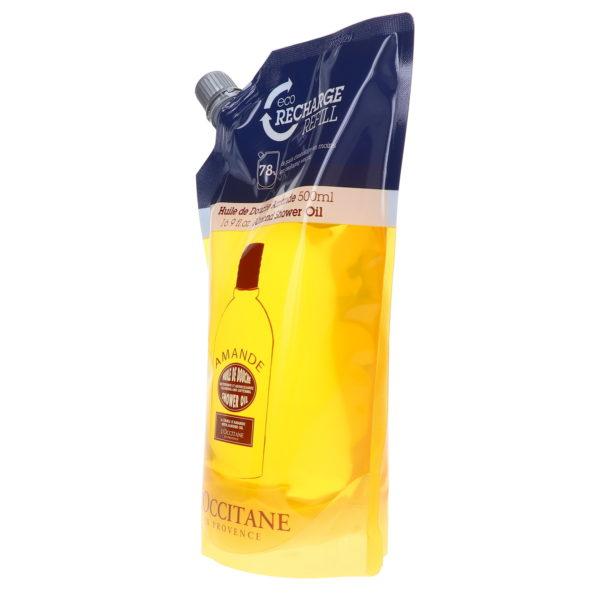 L'Occitane Almond Shower Oil Refill 16.9 oz