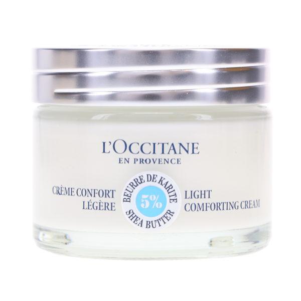 L'Occitane Light Shea Butter Face Cream 1.7 oz