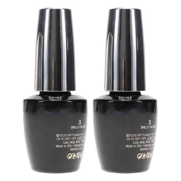 OPI Infinite Shine Top Coat Prostay Gloss 0.5 oz 2 Pack