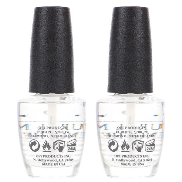 OPI Natural Nail Strengthener 0.5 oz 2 Pack