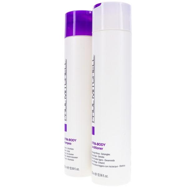 Paul Mitchell ExtraBody Daily Shampoo 10.14 oz & Daily Rinse 10.14 oz Combo Pack