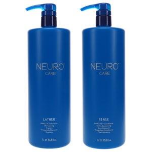 Paul Mitchell Neuro Care Shampoo 33.8 oz & Neuro Care Conditioner 33.8 oz Combo Pack