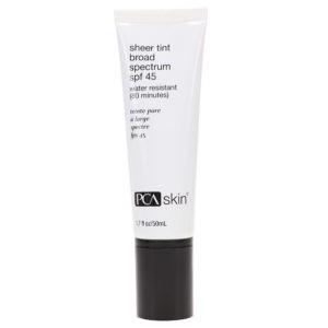 PCA Skin Sheer Tint Broad Spectrum SPF 45 1.7 oz