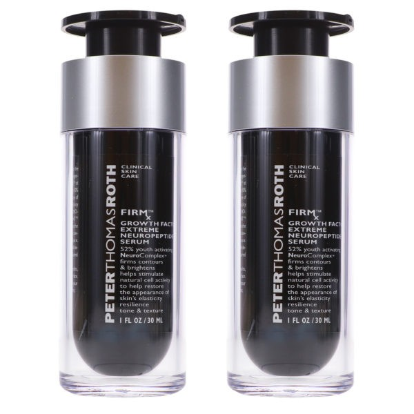 Peter Thomas Roth FIRMx Growth Factor Neuropeptide Serum 1 oz 2 Pack