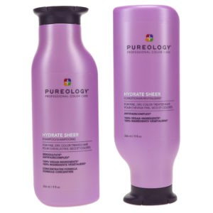 Pureology Hydrate Sheer Shampoo 9 oz and Conditioner 9 oz Combo Pack