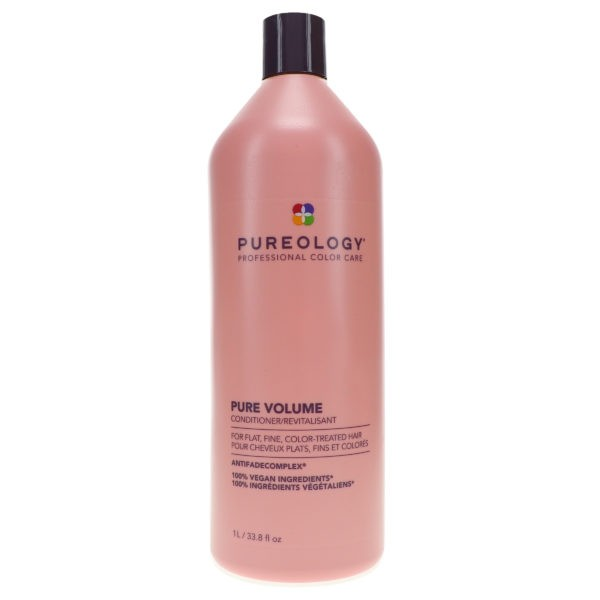 Pureology Pure Volume Shampoo 33.8 oz & Pure Volume Conditioner 33.8 oz Combo Pack