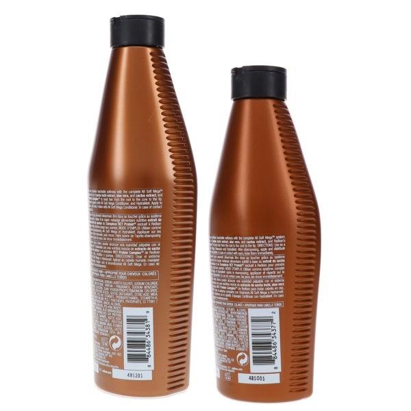 Redken All Soft Mega Shampoo 10.1 oz & All Soft Mega Conditioner 8.5 oz Combo Pack