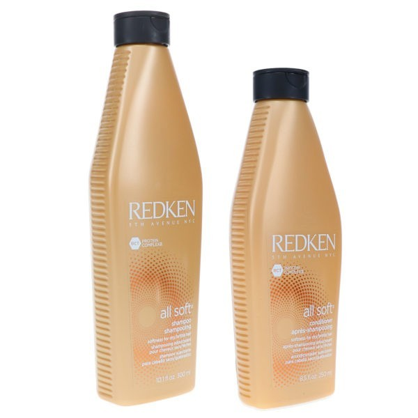 Redken All Soft Shampoo 10.1 oz & All Soft Conditioner 8.5 oz Combo Pack