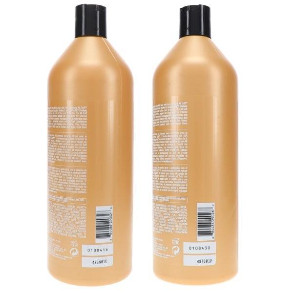 Redken All Soft Shampoo 33.8 oz & All Soft Conditioner 33.8 oz Combo Pack